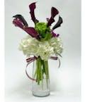 Hydrangea and Calla Lilies