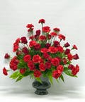 Red Floral Tribute