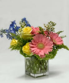 Spring assortment of seasonal flowers