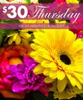 $30 Thursday