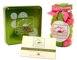 Branded candies and keepsakes